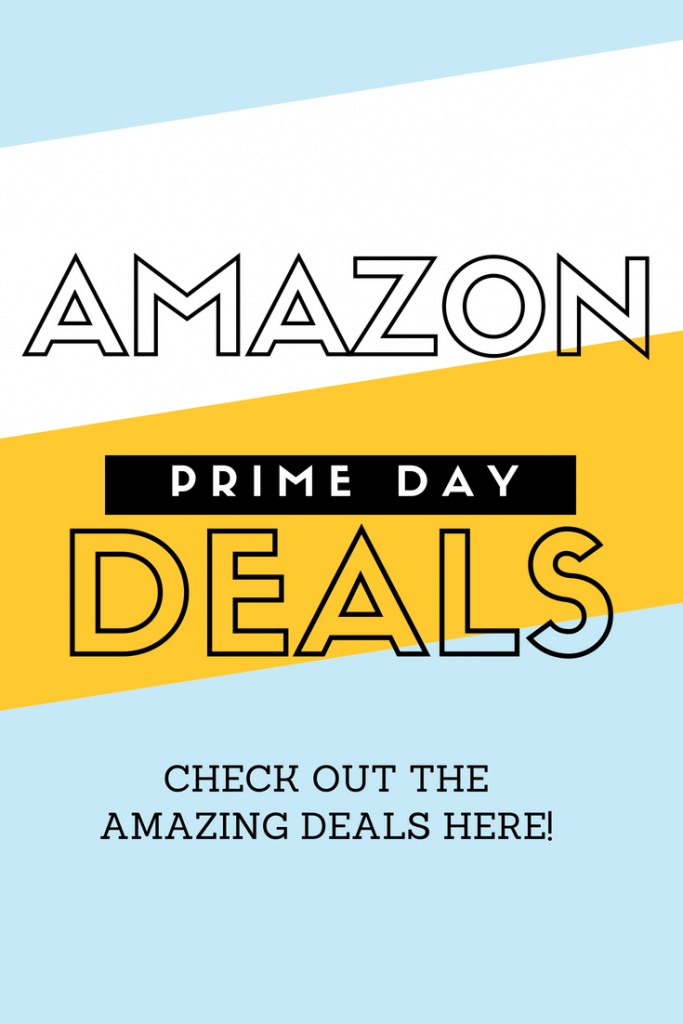 Check out all the great Amazon Prime Day Deals by clicking here!  So many great deals!