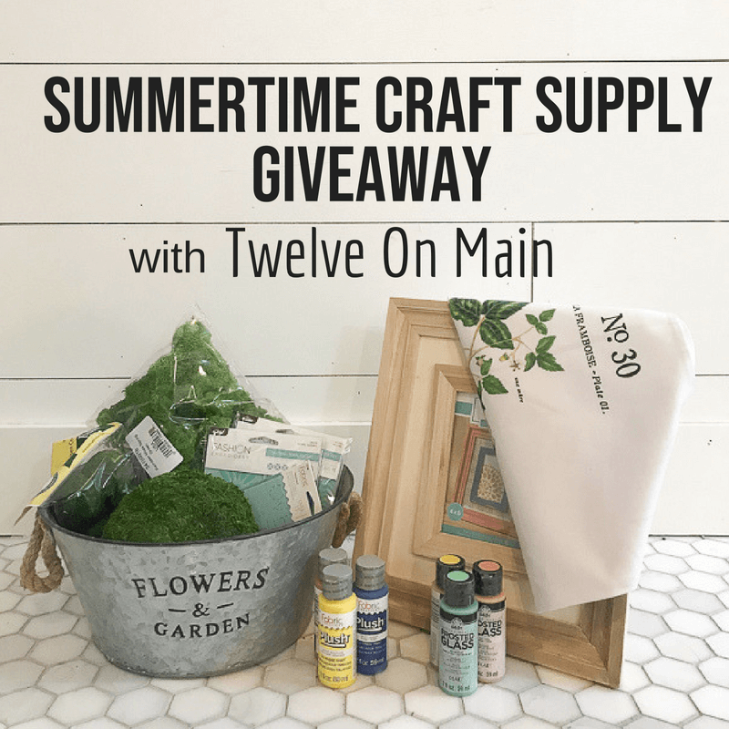 Check out this craft supply giveaway and see if you can win it!