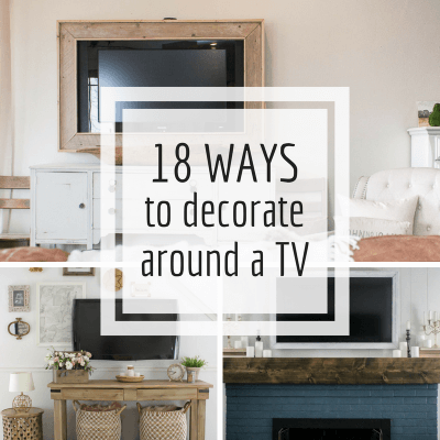 18 Stunning Ways to Decorate Around a TV