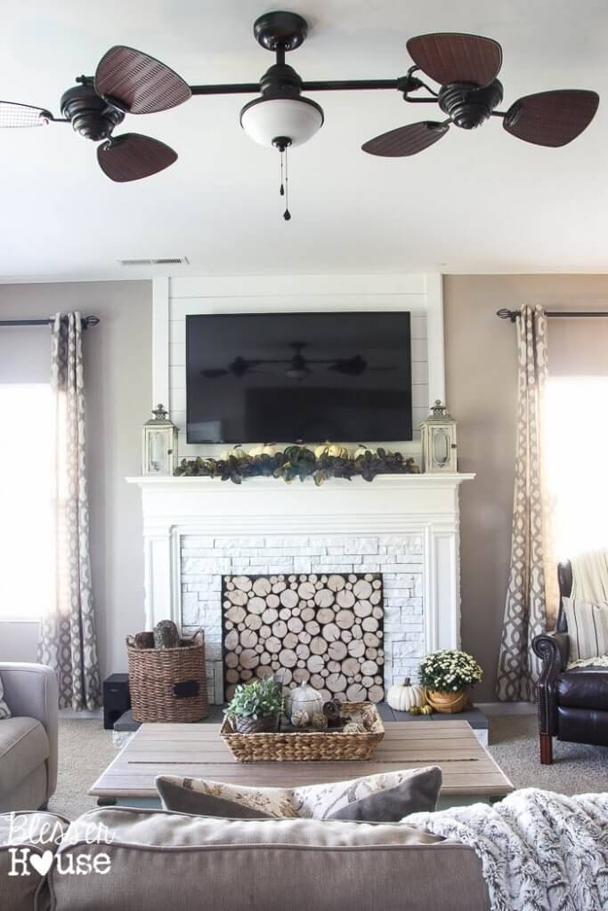 Stunning DIY faux fireplace ideas!