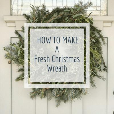Make Your Own Fresh Christmas Wreath Like a Pro