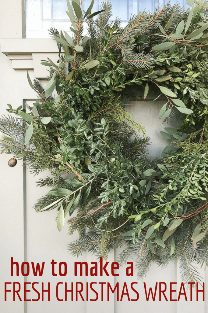 Fresh Christmas Wreaths.Make Your Own Fresh Christmas Wreath Like A Pro Twelve On Main