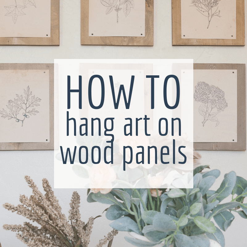How to Mount Prints on Wood Panels Affordably