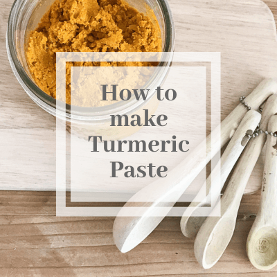 How to Make Easy Turmeric Paste