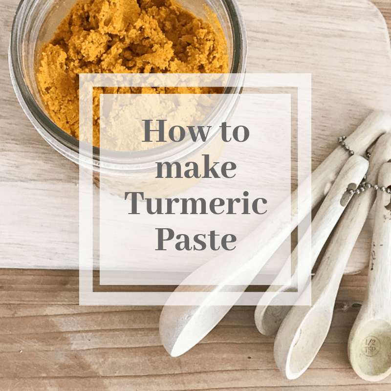 How to make turmeric paste full of health benefits.
