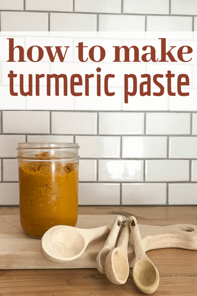 How to make the easiest turmeric paste to mix into your golden milk or turmeric tea!  Try this recipe out if you want to try something new.