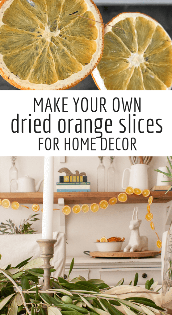 Full tutorial on how to make your own dried orange slice Christmas garland! You can also use to make holiday potpourri! This is a skill worth learning.