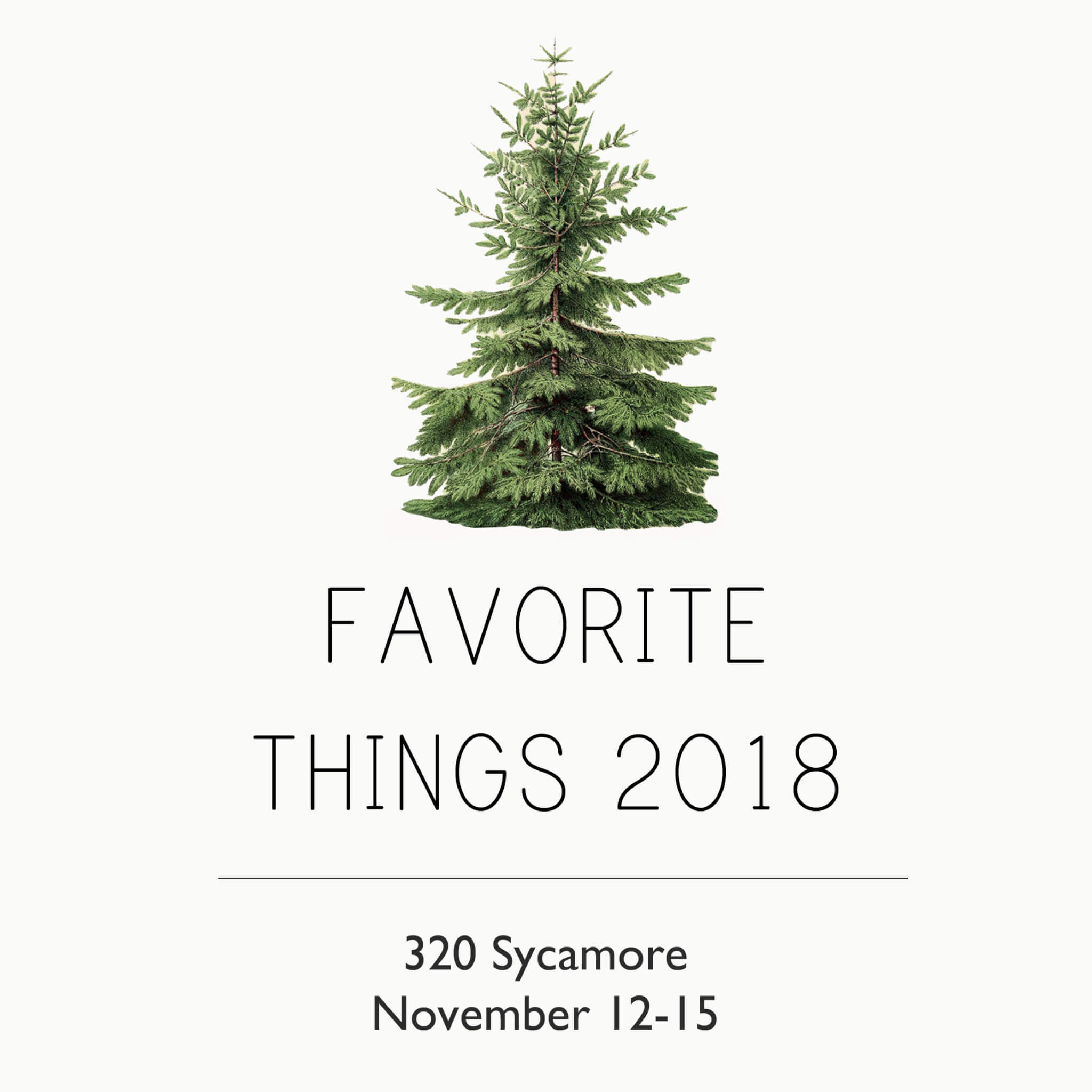My favorite things 2018