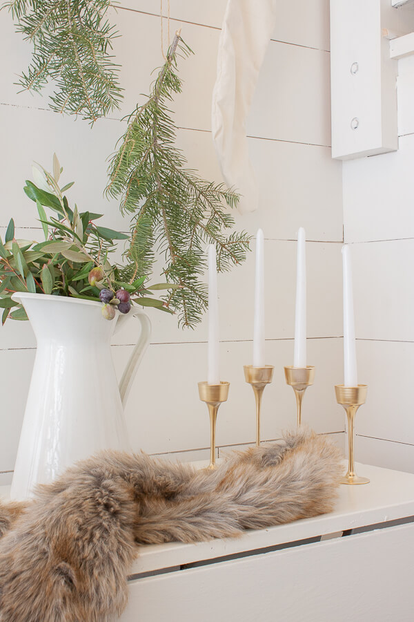 Swedish candlestick holders made with dollar store items!  No way!