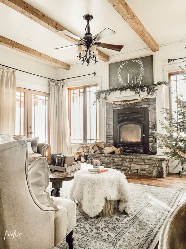 Scandinavian inspired Christmas decor ideas