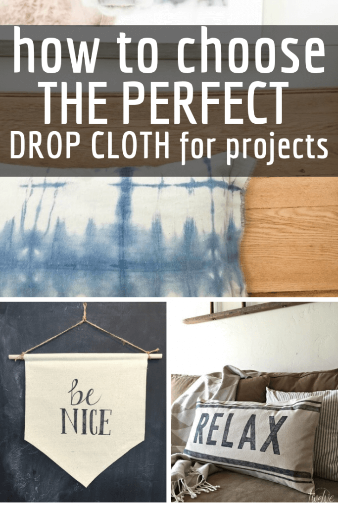 How to choose the right drop cloth for your home decor projects