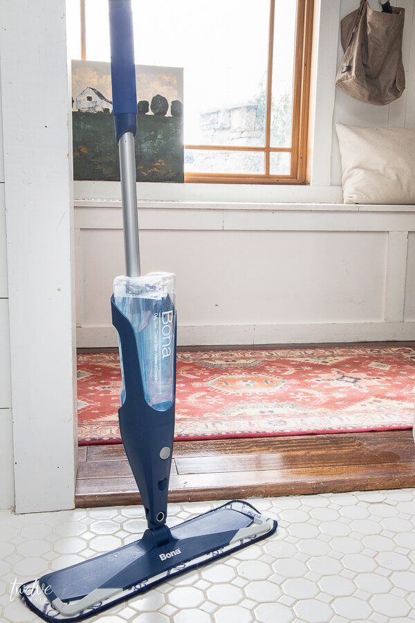 Why I love my Bona premium spray mop and hardwood floor cleaner...
