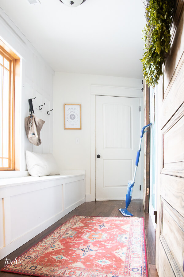 Want the best mop for hardwood floors? Check out this post and see why I love the Bona Premium Spray mop!