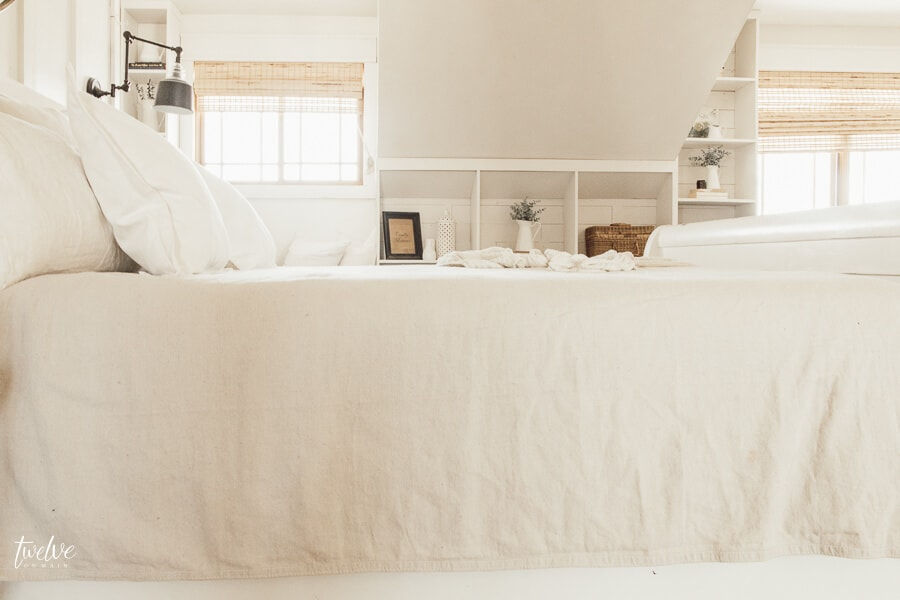 Inexpensive farmhouse style bedding ideas