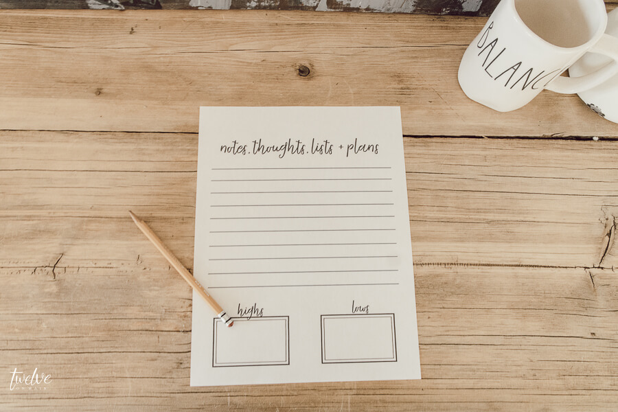 Get this FREE goal setting worksheet and get your life organized!
