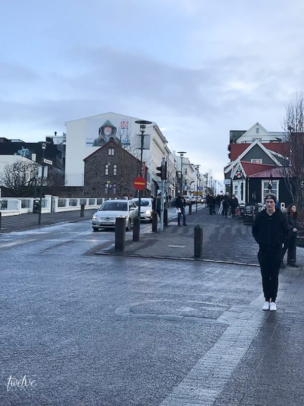 Downtown Reyjkavik, Iceland.  15 things you should know about travelling to Iceland.