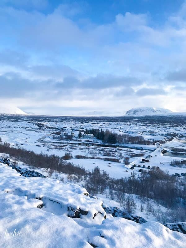 The continental drift in Thingvellir National Park, Iceland.  15 things you should know about before travelling to Iceland