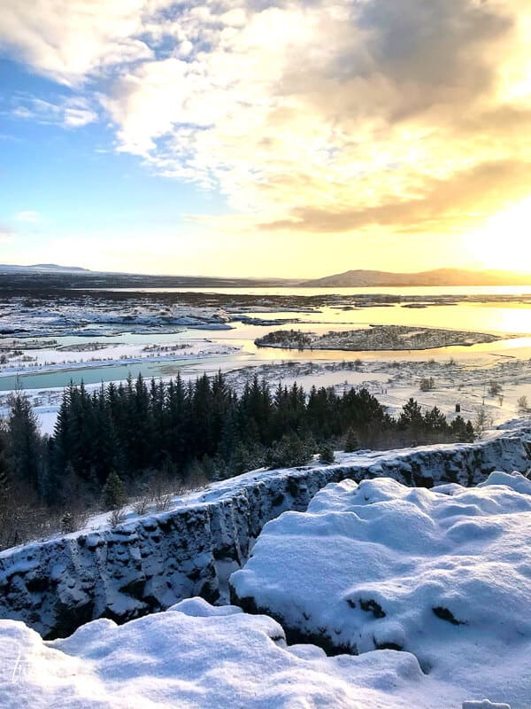 The continent rift at Thingvellir National Park, Iceland.  Such an incredible place!