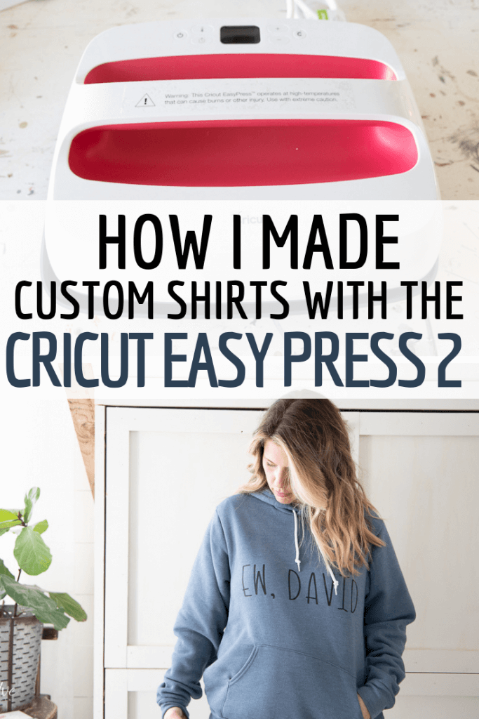 How I made custom shirts using the Cricut Maker and Cricut Easy Press 2