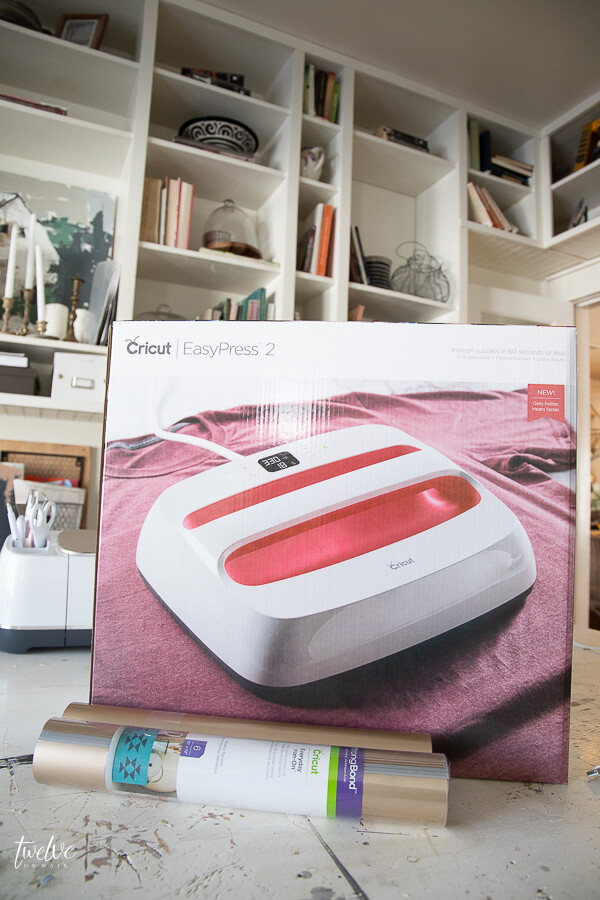 My review of the Cricut Easy Press 2 and why I love it.