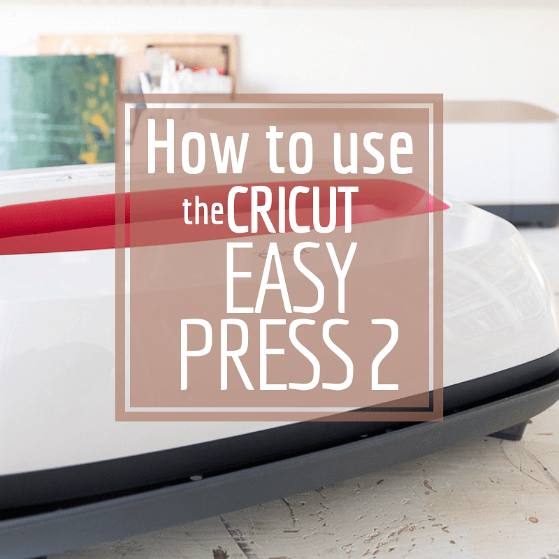 How to use the Cricut Easy Press 2 for so many craft and decor projects around the house! Plus make super fun custom shirts.