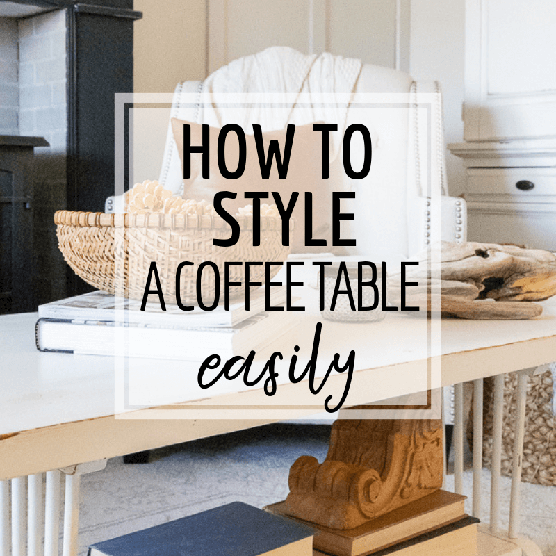 How to style a coffee table like a pro!