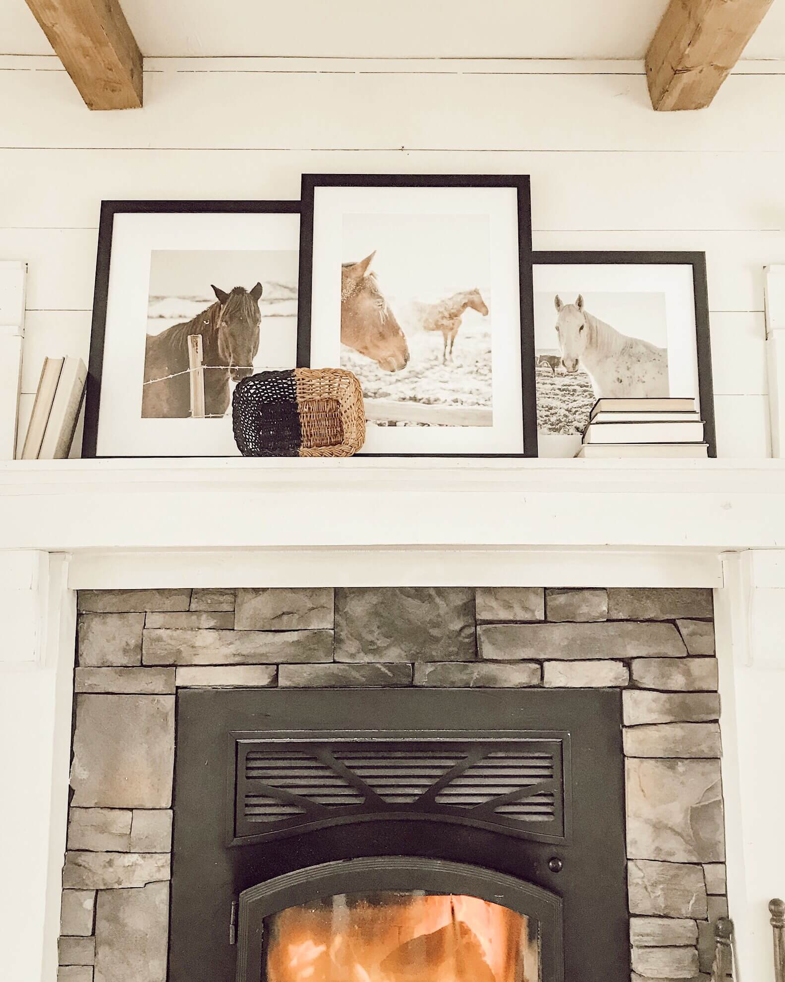 Beautiful horse photography framed by my favorite picture frame shop Frame It Easy. Its so affordable too!