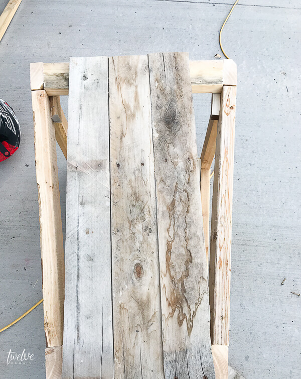 How to make large pallet planter boxes
