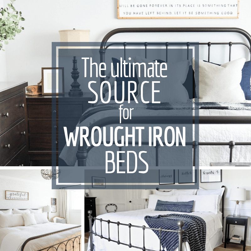 The ultimate guide to wrought iron beds! Want some inspiration, we've got it! Want to shop for afforadable metal beds? We have that too!