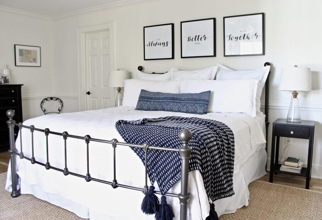 Wrought iron bed envy!