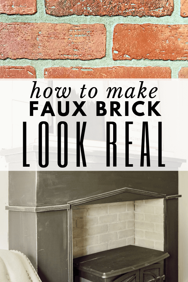How to Make Faux Brick Panels Look Like Real Brick