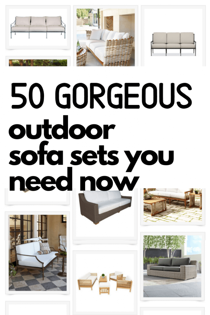 50 gorgeous outdoor sofa sets perfect for your home