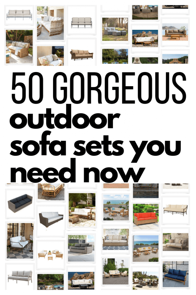 50 gorgeous outdoor sofas for your patio this summer