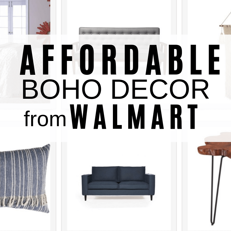 Amazing Boho Decor Available at Walmart!