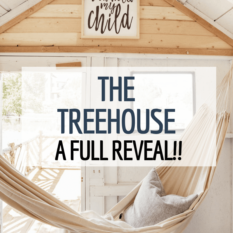A Treehouse Design Perfect for Kids and Adults!