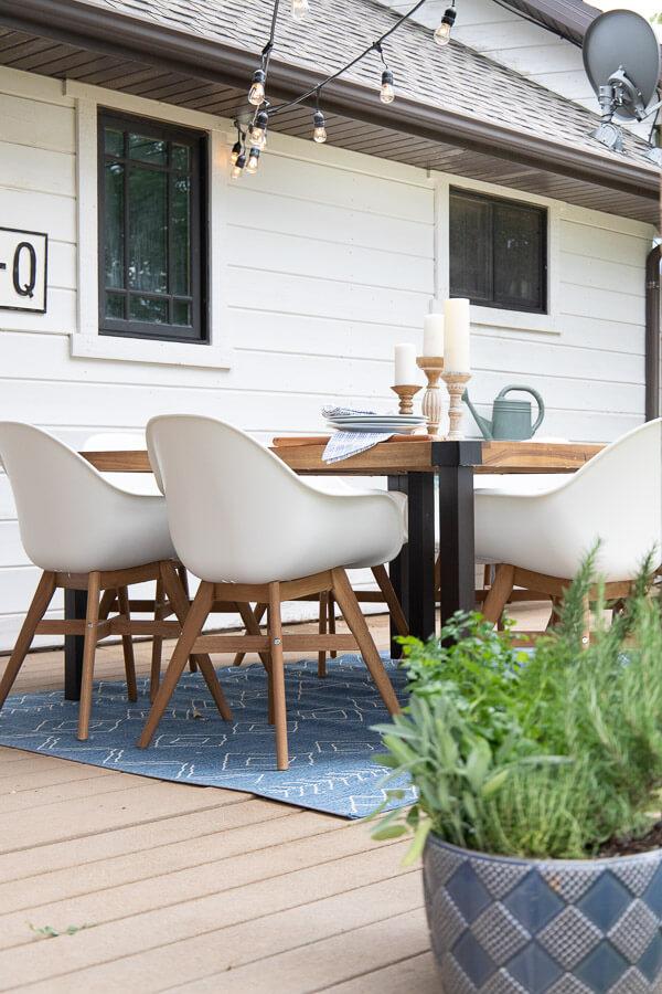 Mid Century Farmhouse Outdoor Decor Ideas With A Boho