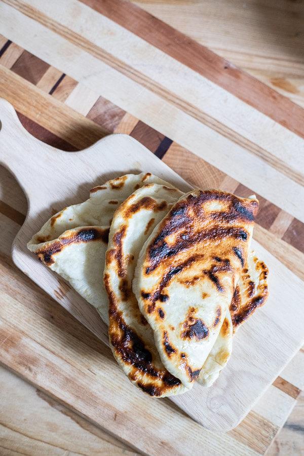 Yummy 2 ingredient flatbread recipe