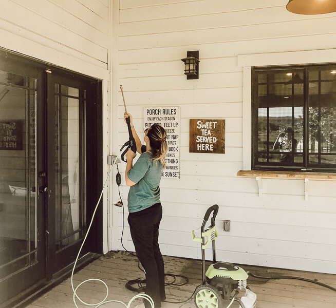 How to clean a patio like a pro with this amazing machine