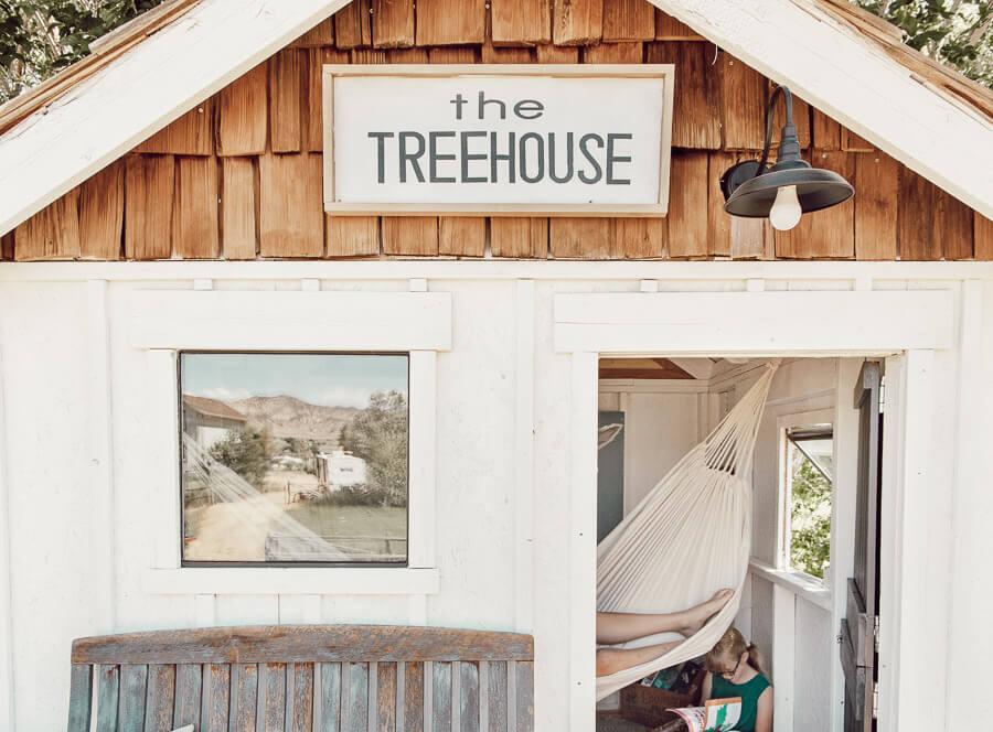Gorgeous treehouse design