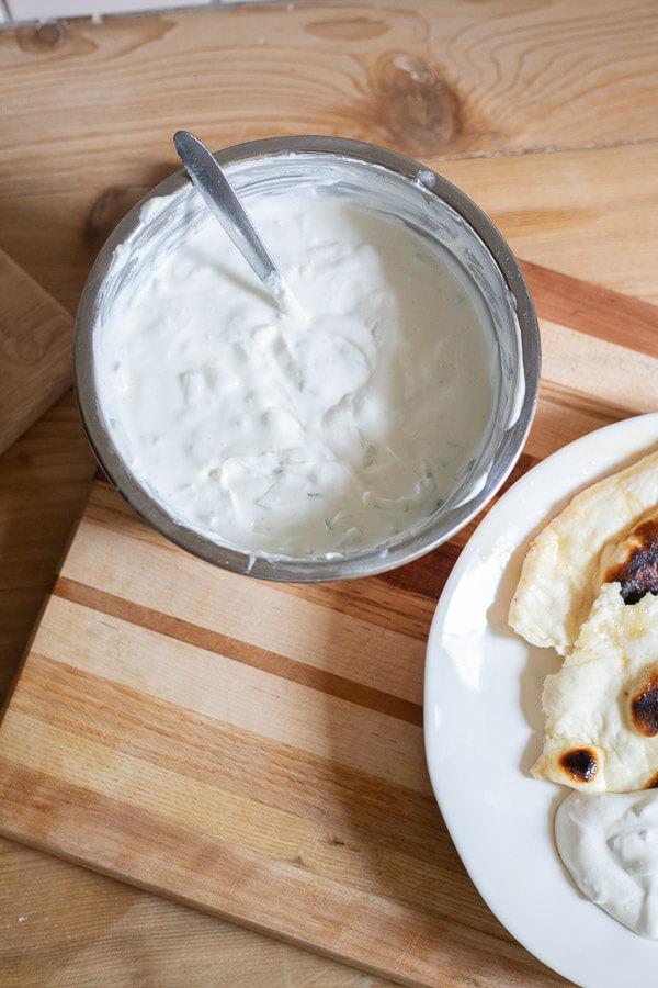 Easy Tzatziki sauce recipe