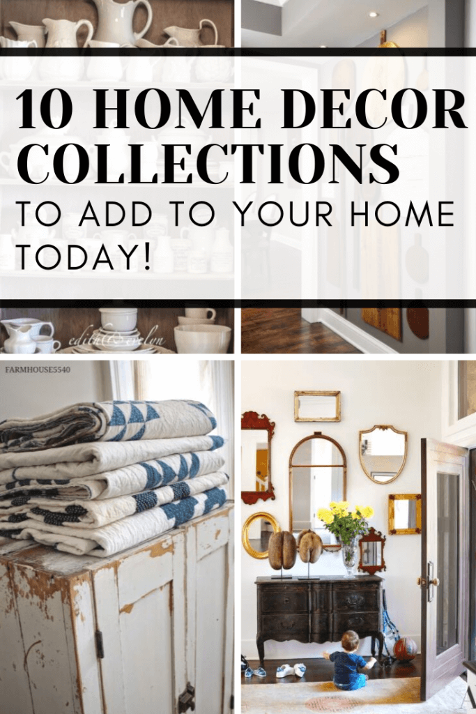 Check out these 10 awesome home decor collections that you can add to your home to add character, style, texture, and interest.