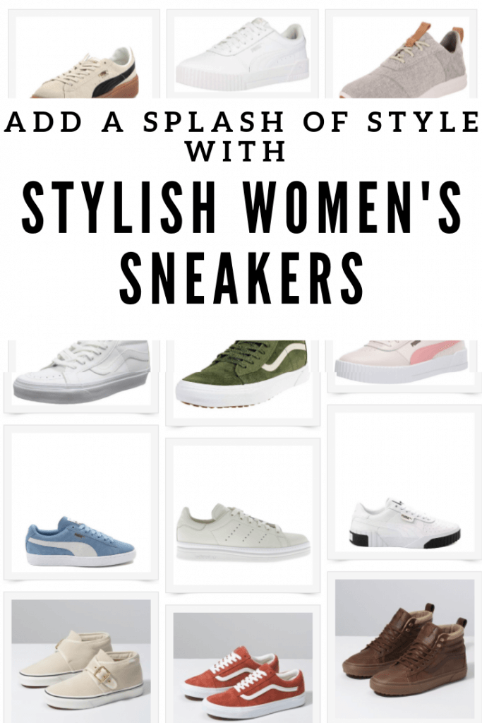Check out these swoon worthy women's sneakers, just perfect for the busy mom running around all day.  They are stylish and comfortable!