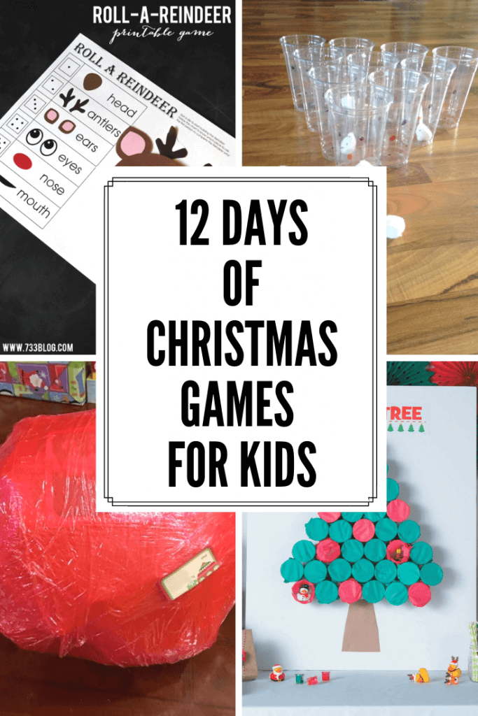 Check out this fun collection of Christmas games for kids!  These are perfect for your next Christmas party, lazy winter day at home, or even a winter themed birthday party!