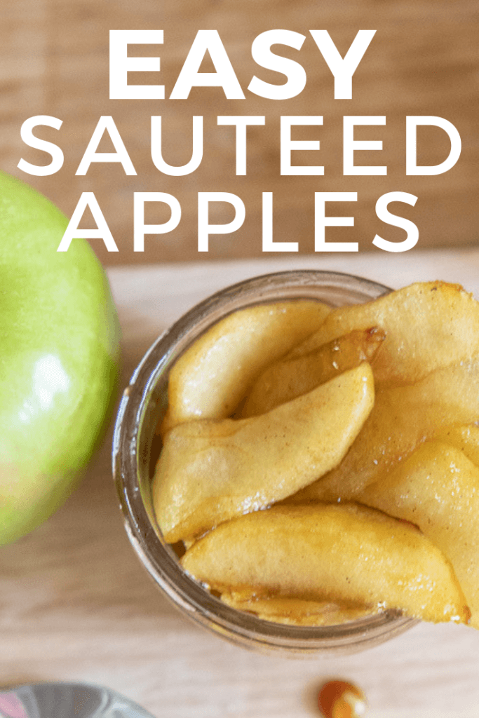 A recipe for sauteed apples with cinnamon.  This recipe is delicious, easy to make, and will have you wanting more!