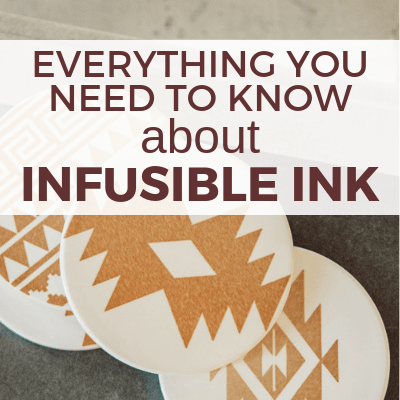How to Use the New Cricut Infusible Ink