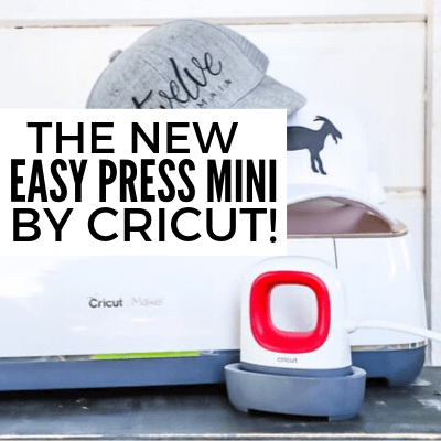 Design and Make Custom Hats with the New Cricut Easy Press Mini