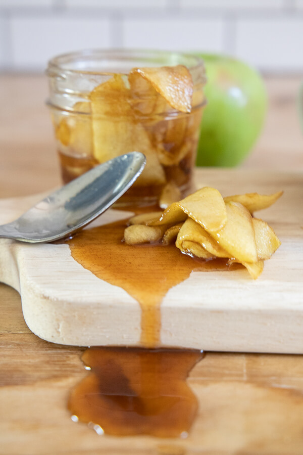 Easy recipe for sauteed apples. Make these right now!
