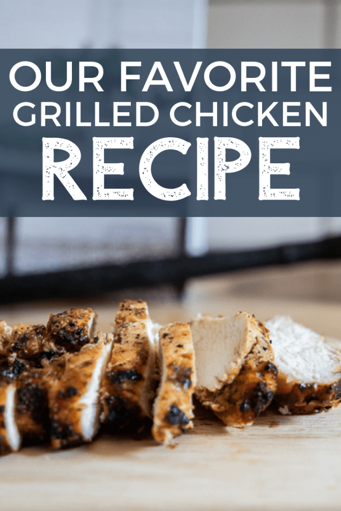 This is the yummiest and easiest grilled chicken recipe to make! This is our go-to grilled chicken. its perfect on salads, sandwiches, wraps and more.