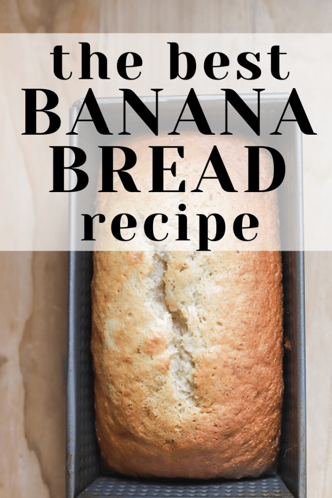 Make the best banana bread recipe! It's right here. This banana bread is easy, dependable, moist, tender, and so delicious! Add some chocolate chips to make it even more decadent!