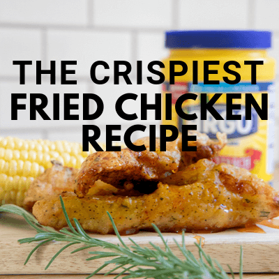 The Crispiest Fried Chicken Recipe with Herb Infused Batter and Sriracha Honey Sauce